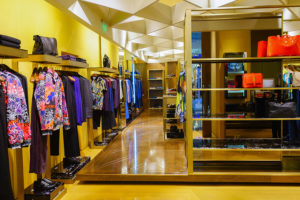 retail store high end